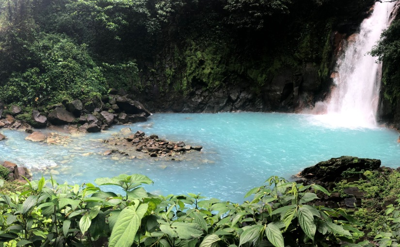 Costa Rican Adventure Part 2: Rio Celeste Waterfall